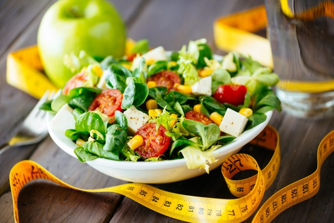Nutrition Awareness: Fitness healthy salad