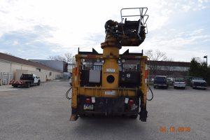 HiRail Grapple Truck Log Loader