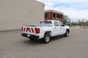 1 2 Ton Pickup Truck Rear Double Crossbox Toolbox