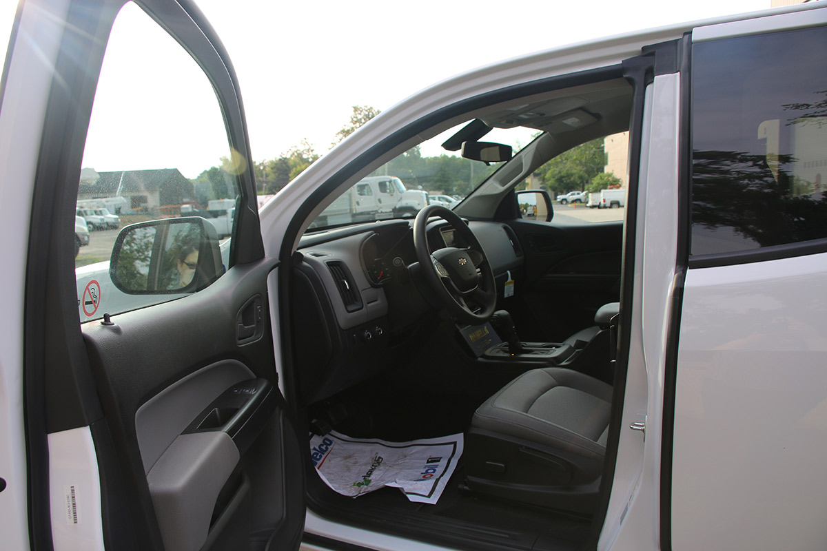 1 4 Ton Pickup Truck Inside Extended Cab