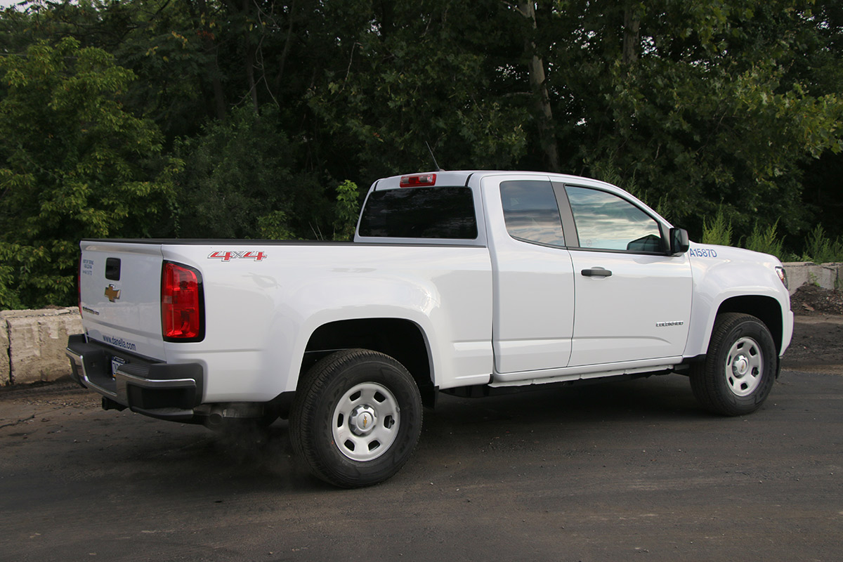 1 4 Ton Pickup Truck Passenger Side Extended Cab
