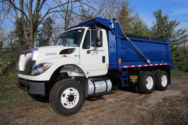 10 16 Cubic Yard Dump Truck Driver Side