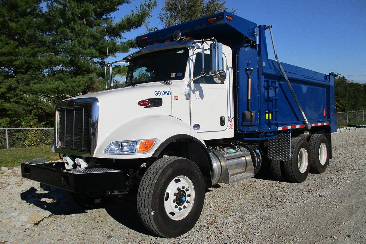 10 16 Cubic Yard Dump Truck Driver Side2