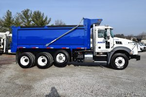 10 16 Cubic Yard Dump Truck Passenger Side