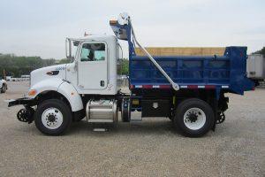 2 6 Cubic Yard Dump Truck Driver Side