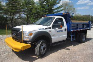 2 6 Cubic Yard Dump Truck Driver Side2