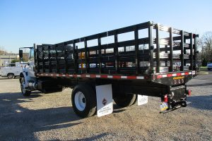 20 33000 GVWR Flatbed Driver Side Rear
