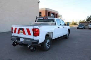 3 4 Ton Pickup Truck Rear Double Cab Hi Rail Cross Toolbox