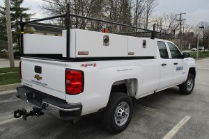3 4 Ton Pickup Truck Rear Double Cab Tow Package Ladder Rack Side Toolboxes