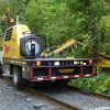 Brush Cutter Rear Driver Side Hi Rail On Track Mower Extended