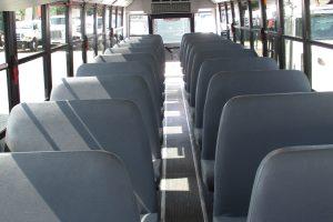 Bus Interior Seating