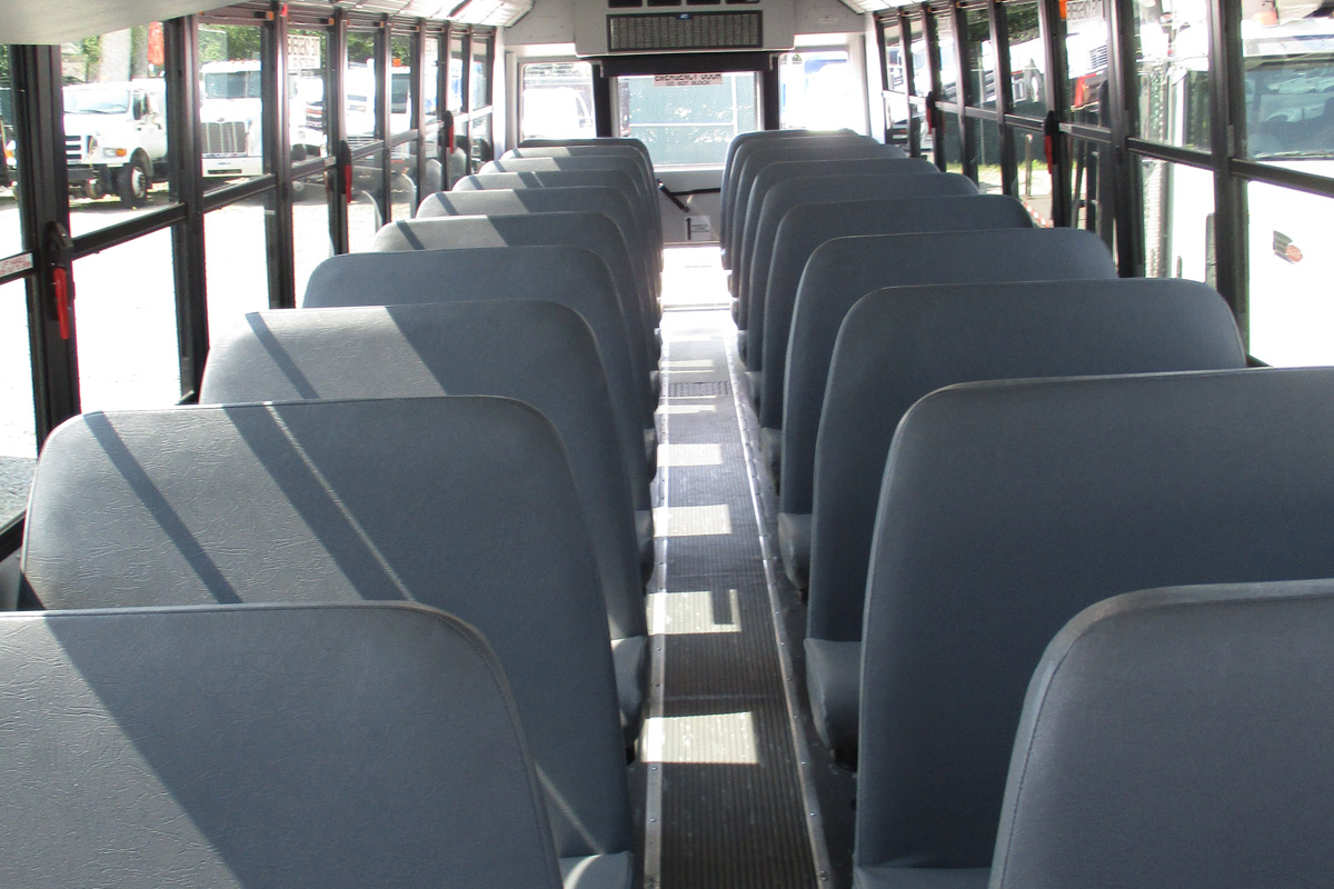 Bus Interior Seating