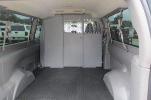 Cargo Van Rear Trunk Cargo Partition