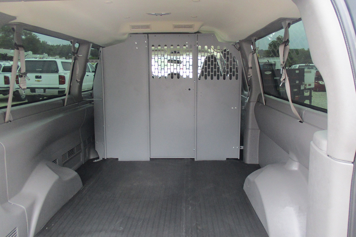 Cargo Van Rear Trunk Cargo Partition