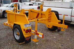 Equipment Trailer 1 Cable Pole