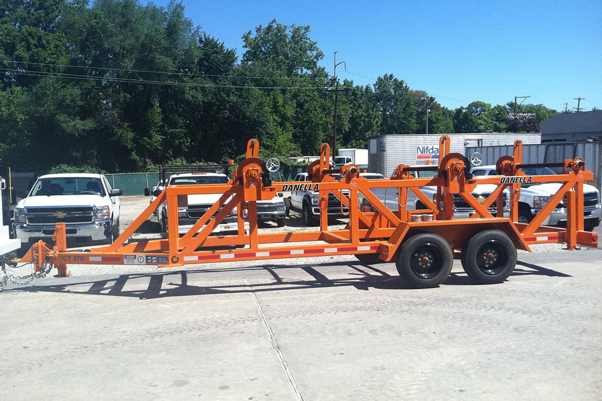 Equipment Trailer 3 Cable Pole