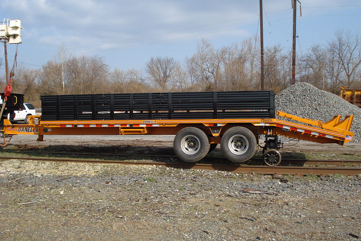 Equipment Trailer Hi Rail