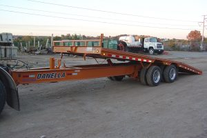 Equipment Trailer Tilting Bed