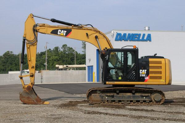 Excavator Driver Side CAT 316E