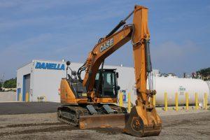 Excavator Front Passenger Side CASE