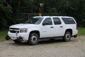 Full Size SUV Front Driver Side H Rail Strobe