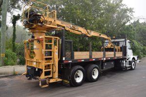 Hi Rail Material Handler Passenger Side Rear Bulitrite Crane