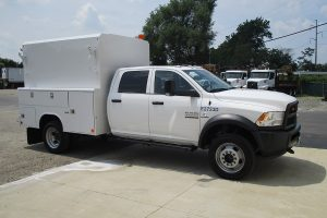 Hi Top Utility Truck Passenger Side Utility Body