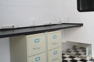 Office Storage Trailer Interior Office