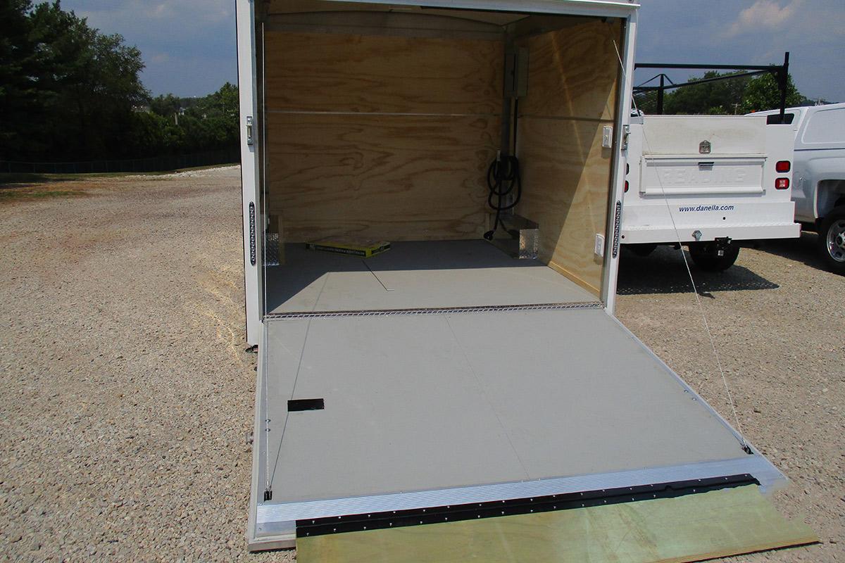 Office Storage Trailer Rear Storage