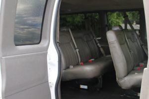 Passenger Van Passenger Side Seating