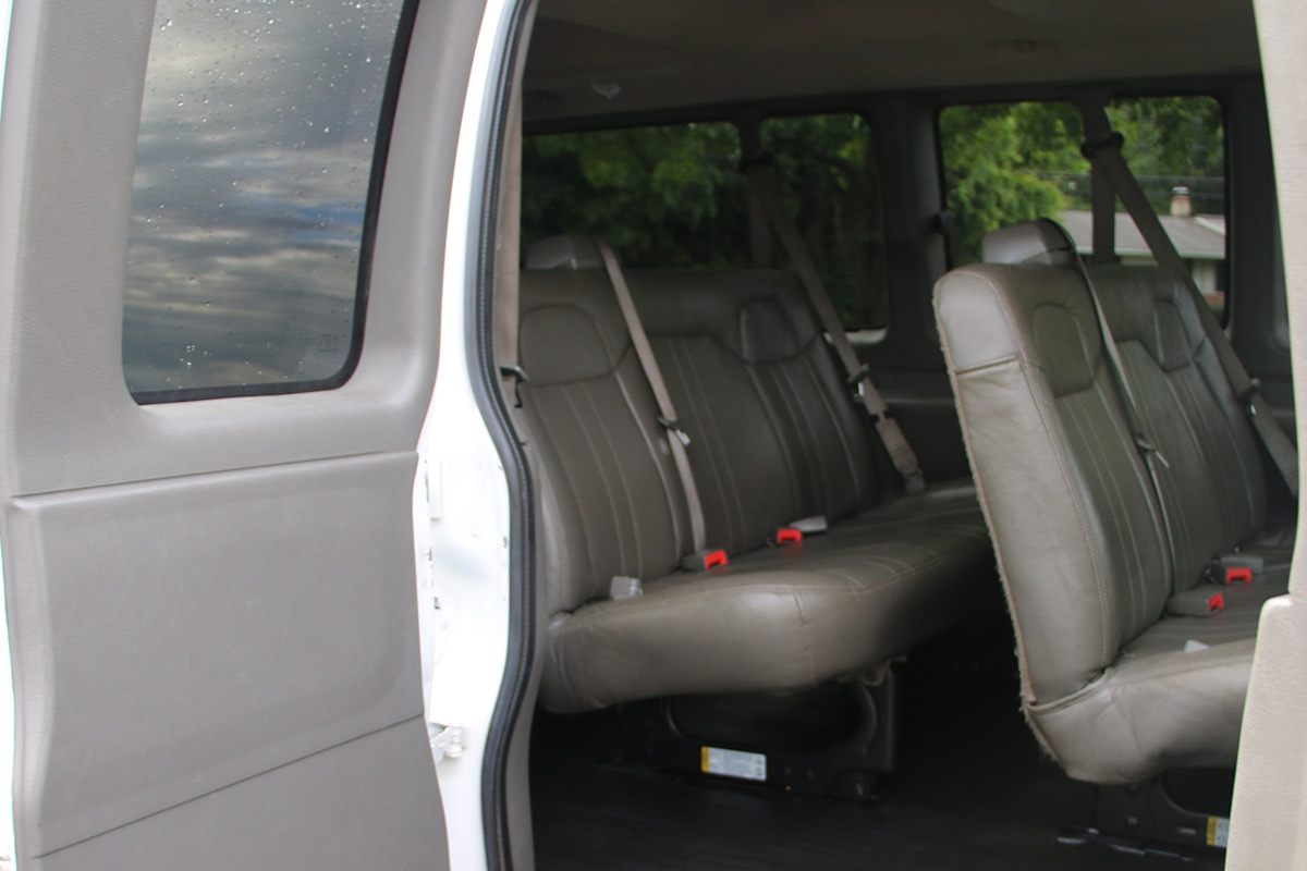 Passenger Van Passenger Side Seating