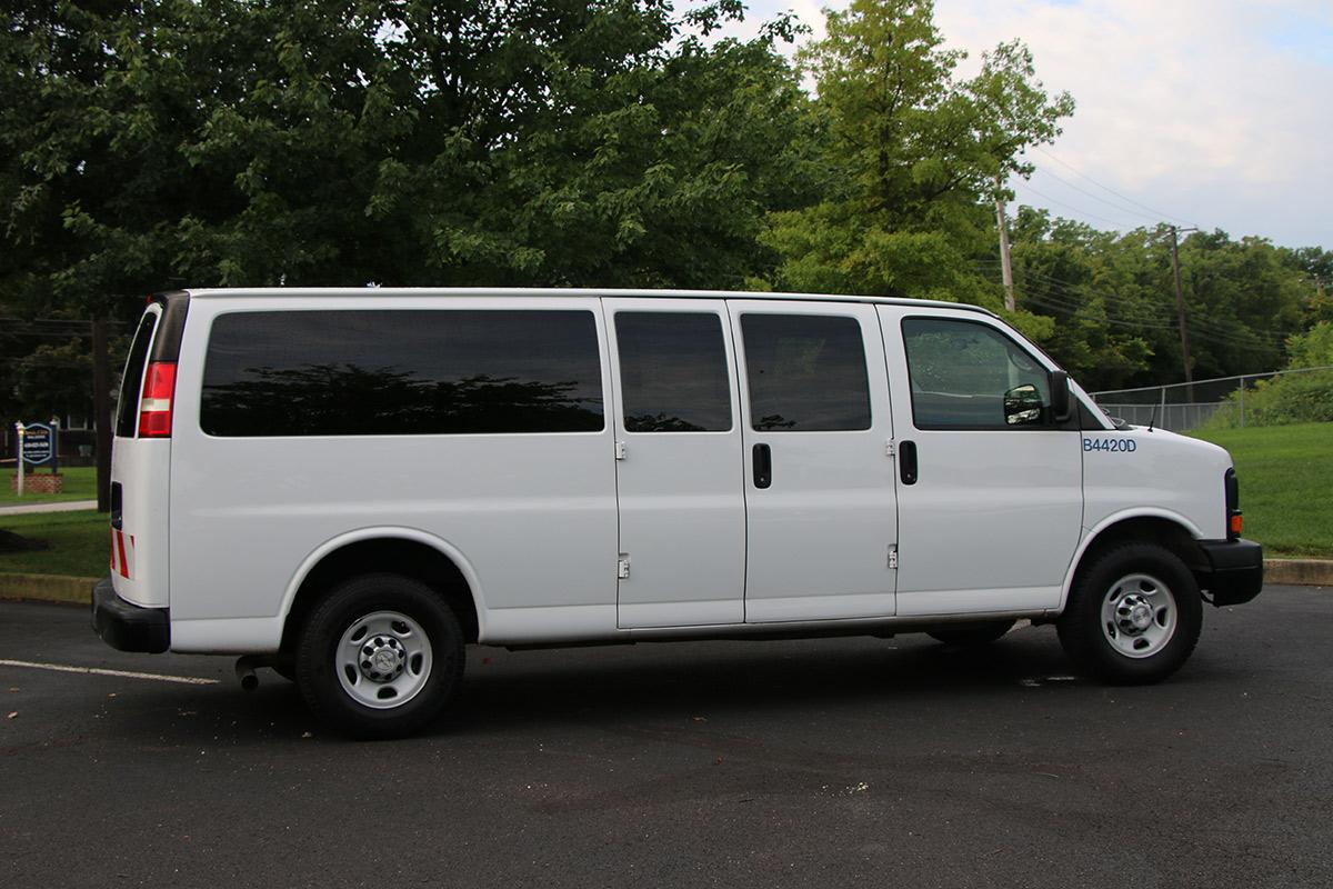 Passenger Van Passenger Side