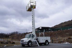Platform Truck Driver Side Deck Up