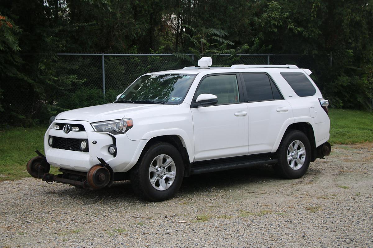 Small Mid Size SUV Hi Rail Strobe Lights