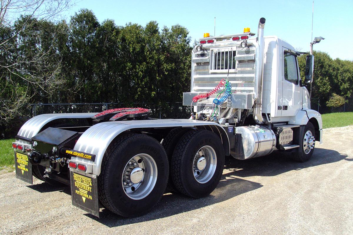 Truck Tractor Rear Passenger Side Volvo