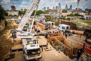 Danella Gas Project in Philadelphia