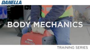 Danella Safety Training - Body Mechanics