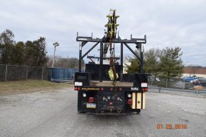 Hi Rail Crane Center Mount 4