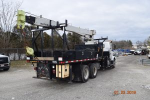 Hi Rail Crane Center Mount 5