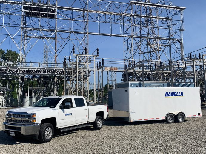 Danella Substation Construction