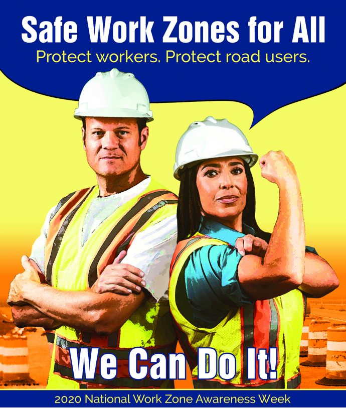 National Work Zone Awareness Poster
