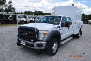 2014 Hi Rail Hi Top Utility Truck 1