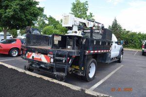 2015 Hi Rail Flatbed Crane Truck 1