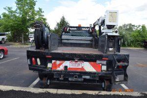 2015 Hi Rail Flatbed Crane Truck 2