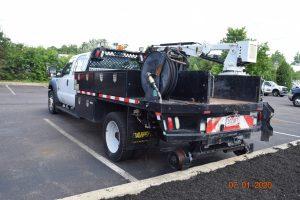 2015 Hi Rail Flatbed Crane Truck 3