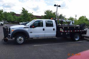 2015 Hi Rail Flatbed Crane Truck 4