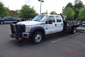 2015 Hi Rail Flatbed Crane Truck 6