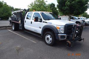 2015 Hi Rail Flatbed Crane Truck 8