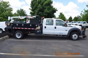 2015 Hi Rail Flatbed Crane Truck 9