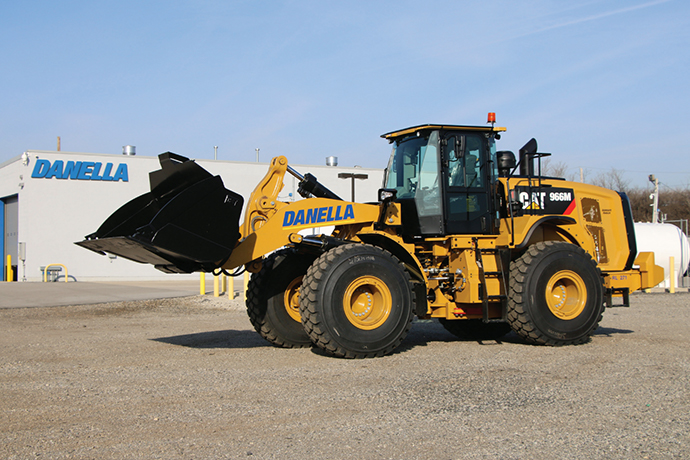 danella front end loader